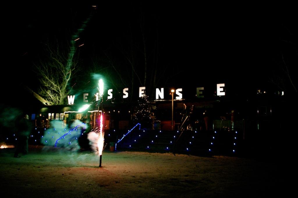 Silvester im Strandbad Weißensee: So kann's gehen