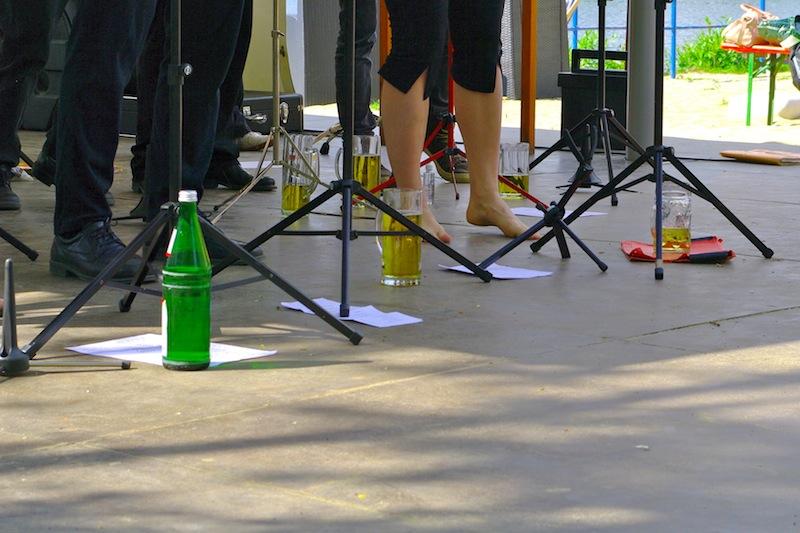 Anarchistische Saisoneröffnung 2014 im Strandbad Weißensee