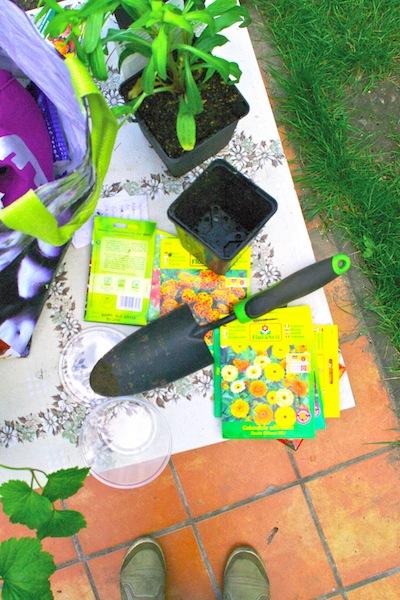 Frühling in Weissensee: Pflanzen und säen was das Zeug hält