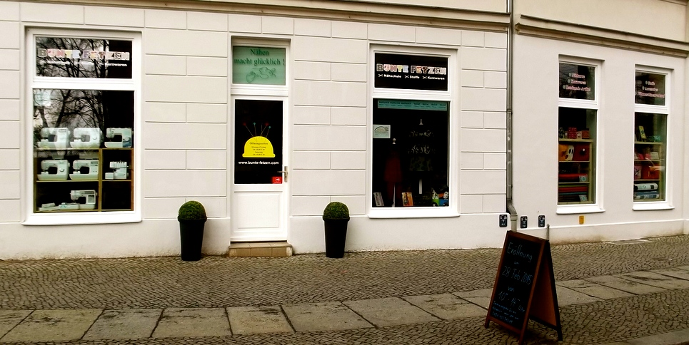 Hier entsteht der Bunte Fetzen-Laden in der Altstadt Köpenick.