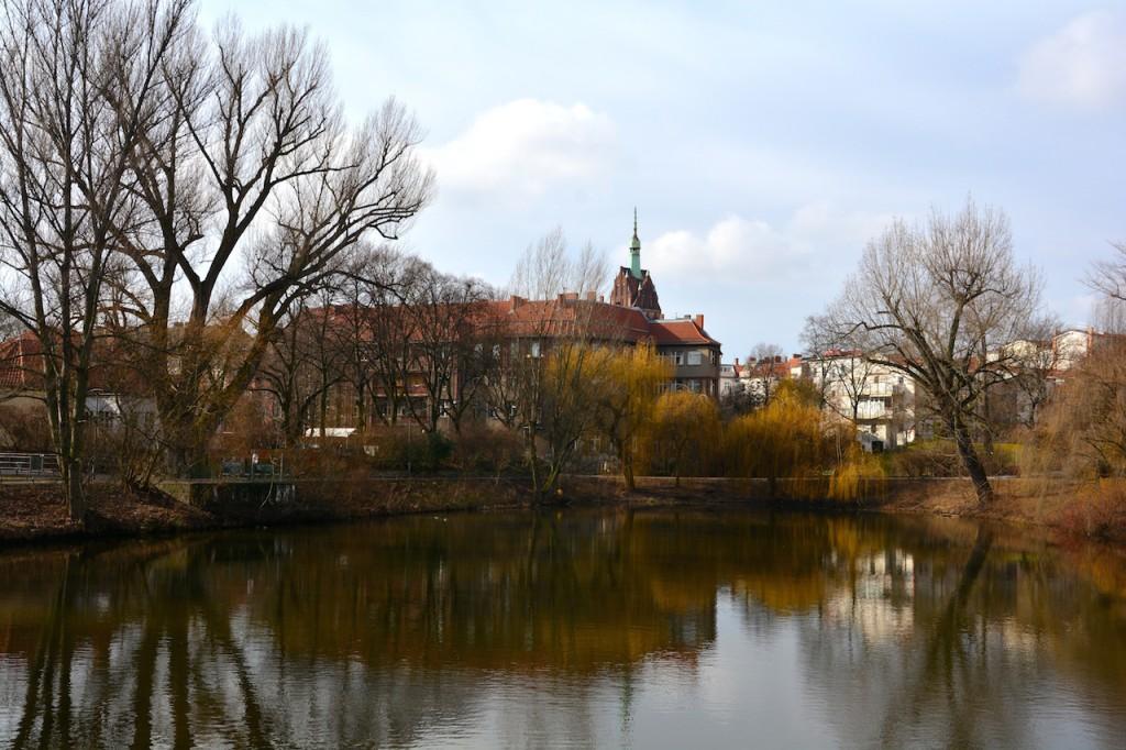 Kreuzfuhl See in Berlin Weißensee