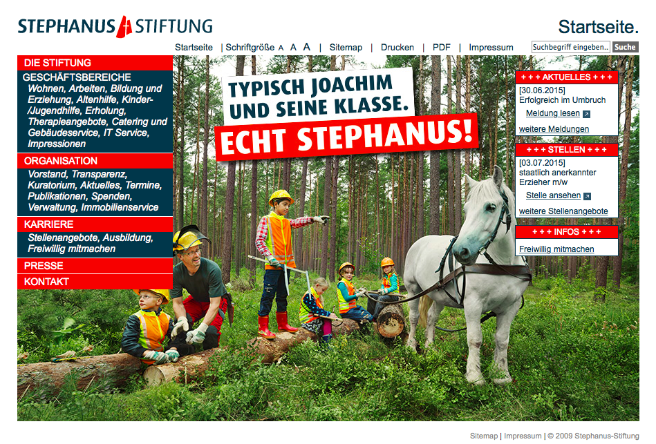 Nebenan am See: Stephanus-Stiftung