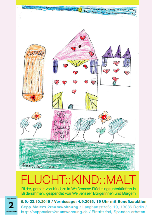 Bei Sepp: FLUCHT :: KIND :: MALT – Vernissage