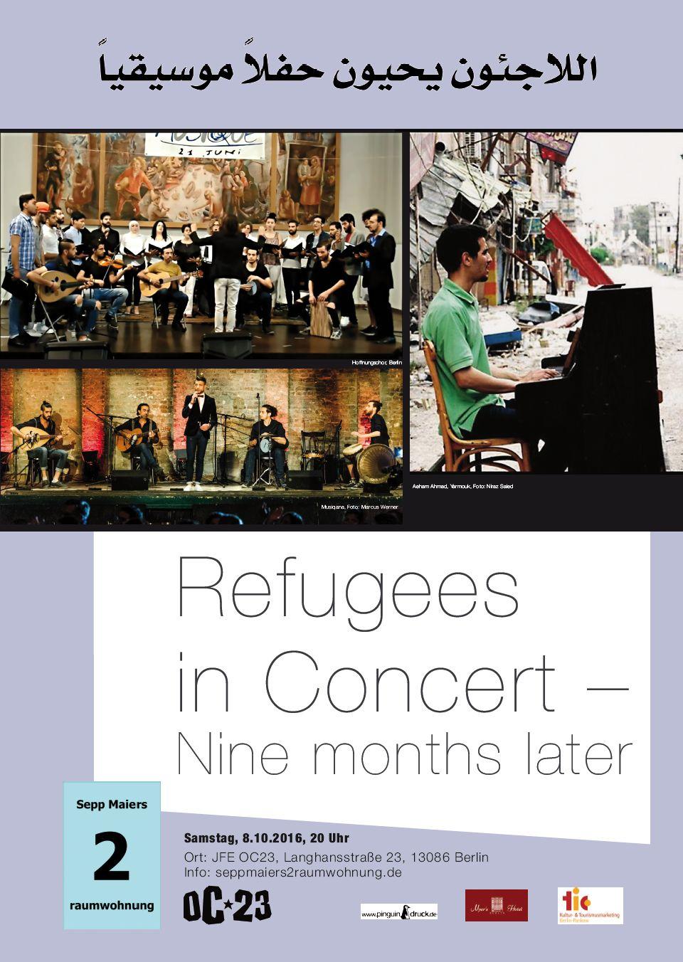 Bei Sepp: Refugees in Concert
