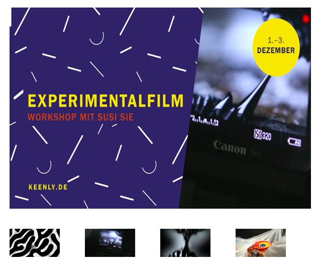 Micha Koch präsentiert: Workshop für Experimentalfilm