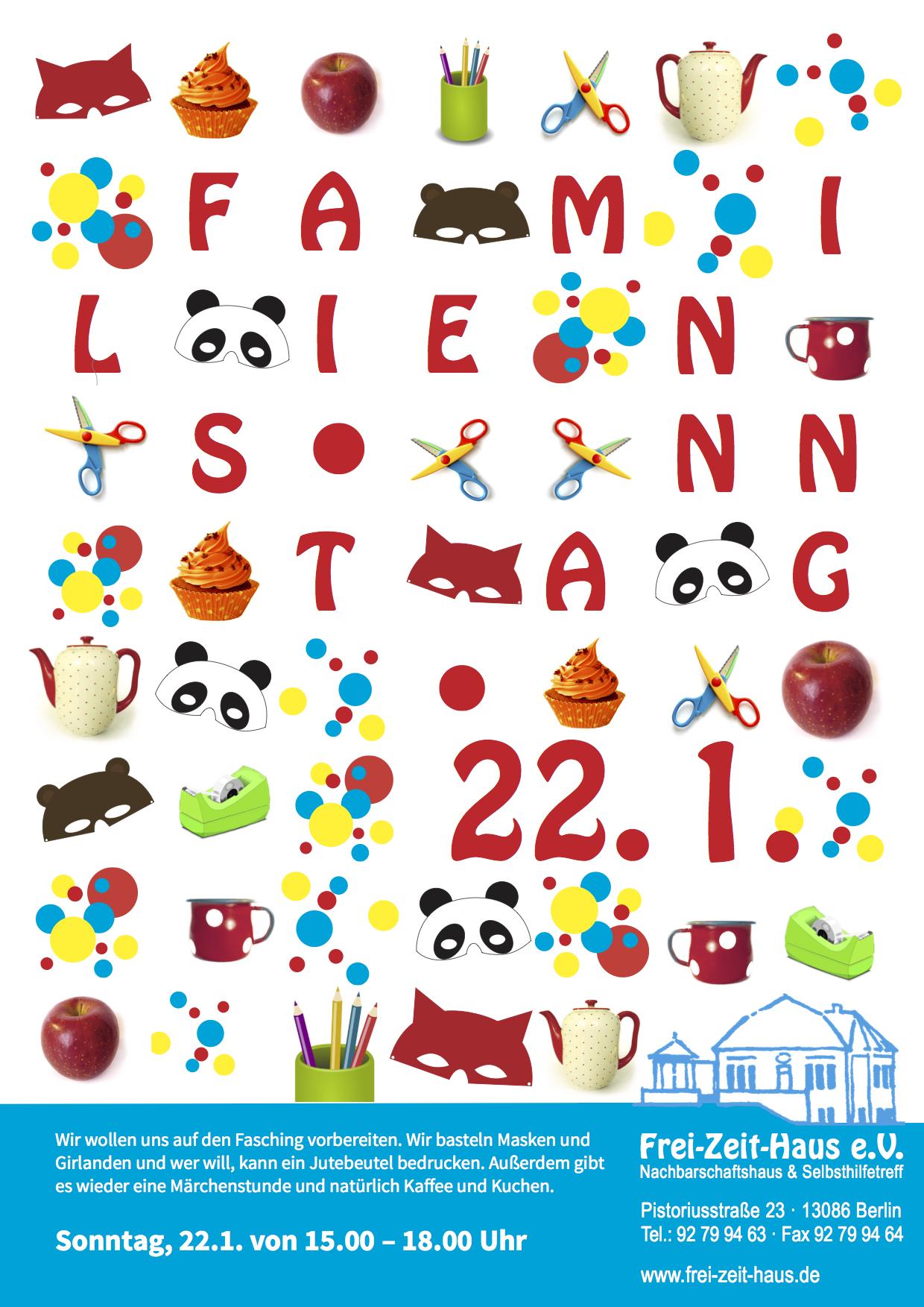 Familiensonntag im Frei-Zeit-Haus!