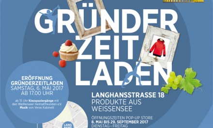 Here we go: Countdown Eröffnung Gründerzeitladen
